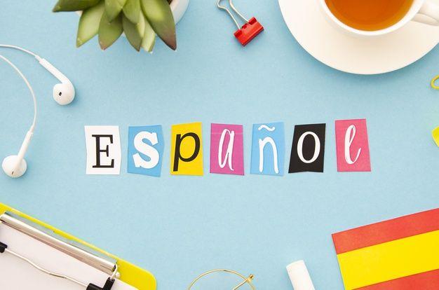espanol-lettering-blue-background_23-2148293422