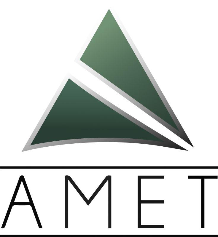Logo Amet preto